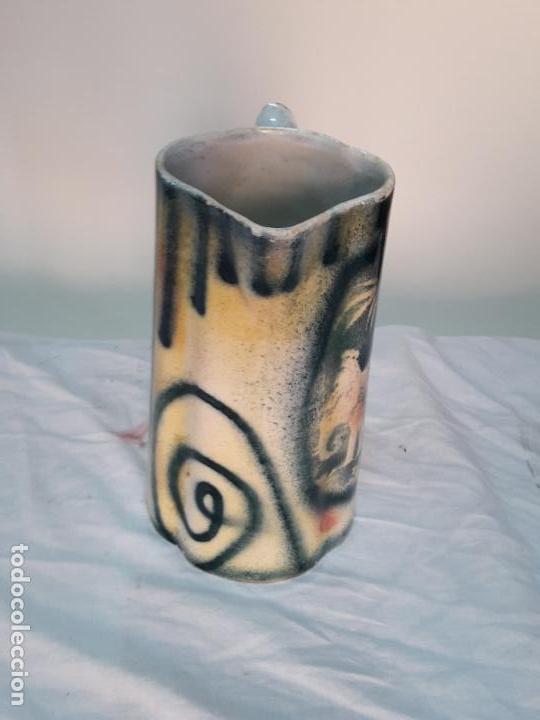 Antigüedades: Jarra grande de cerámica valenciana, ff XIX. - Foto 2 - 120766019