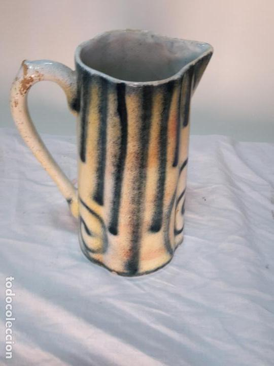Antigüedades: Jarra grande de cerámica valenciana, ff XIX. - Foto 3 - 120766019