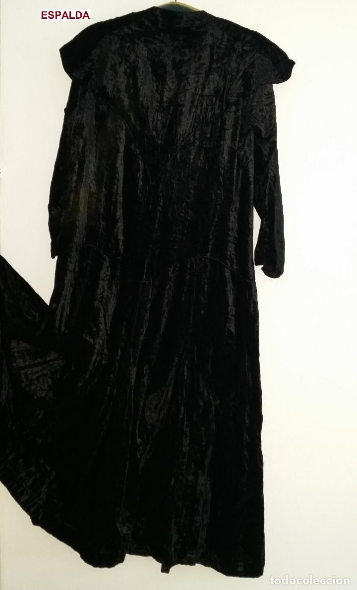 Antigüedades: Antiguo vestido de terciopelo Art Deco - americano - Foto 8 - 120767999