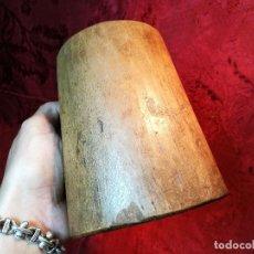 Antigüedades: MESURA-MEDIDA DE GRANO-ORIGINAL SIGLO XIX-. NOGAL DE UNA PIEZA.CELEMIN-CUARTERA-FANEGA. Lote 120801907
