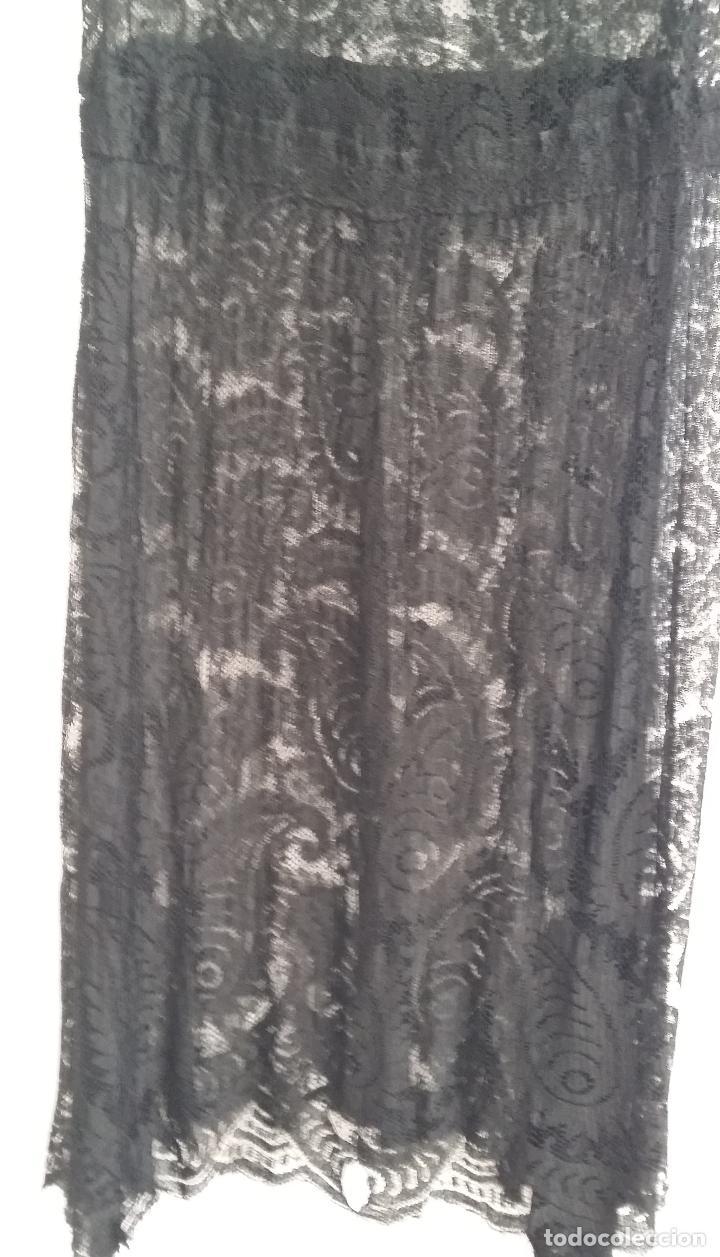 Antigüedades: Antiguo vestido de encaje Art Deco - Foto 5 - 120806119
