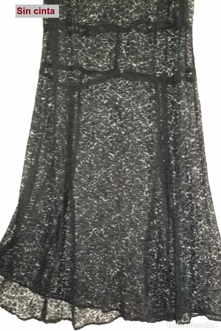 Antigüedades: Antiguo vestido de encaje Art Deco - Foto 11 - 120835371