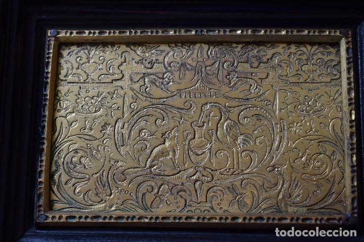 Antigüedades: MUEBLE BARGUEÑO ARQUILLA ESTILO FRANCES SIGLO XIX - Foto 3 - 111378023