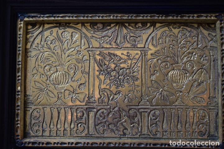 Antigüedades: MUEBLE BARGUEÑO ARQUILLA ESTILO FRANCES SIGLO XIX - Foto 4 - 111378023