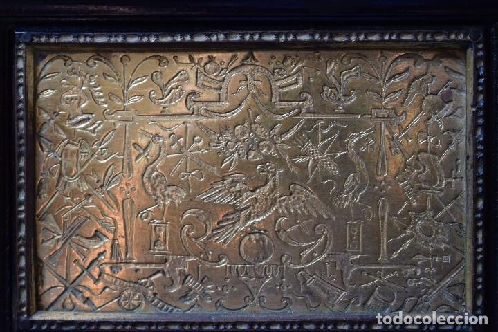 Antigüedades: MUEBLE BARGUEÑO ARQUILLA ESTILO FRANCES SIGLO XIX - Foto 5 - 111378023