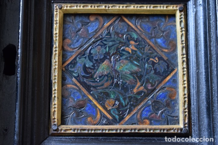 Antigüedades: MUEBLE BARGUEÑO ARQUILLA ESTILO FRANCES SIGLO XIX - Foto 6 - 111378023