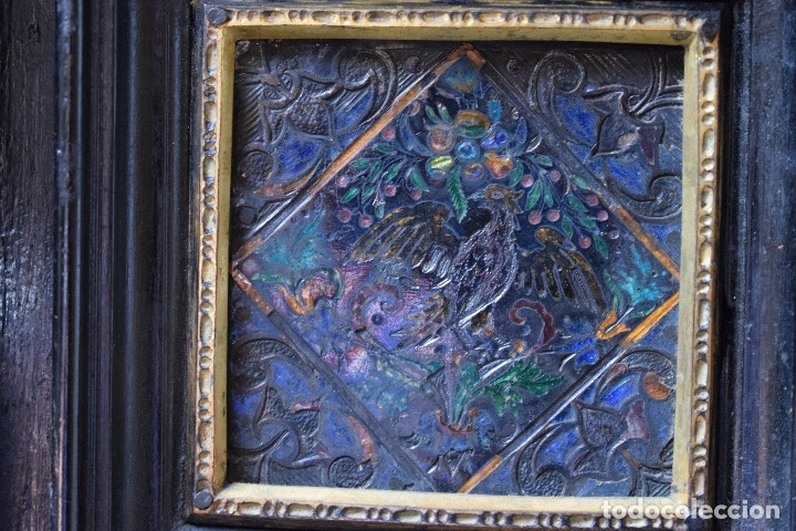 Antigüedades: MUEBLE BARGUEÑO ARQUILLA ESTILO FRANCES SIGLO XIX - Foto 8 - 111378023