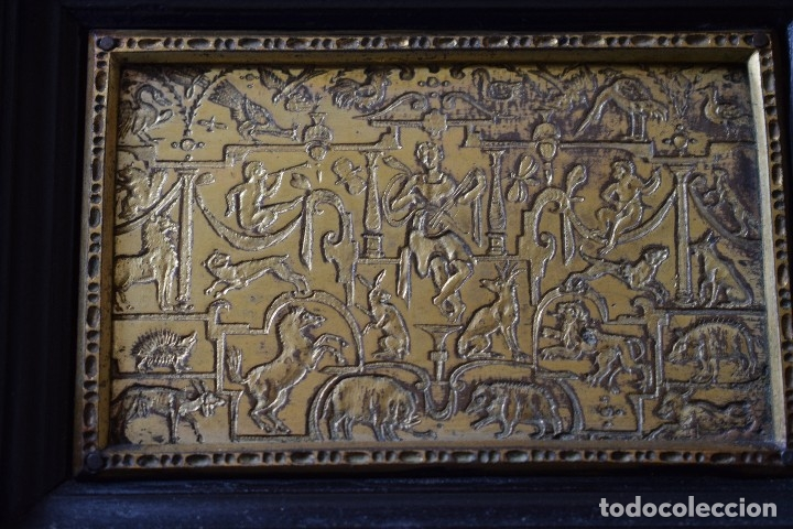 Antigüedades: MUEBLE BARGUEÑO ARQUILLA ESTILO FRANCES SIGLO XIX - Foto 9 - 111378023
