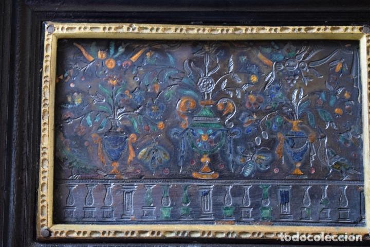 Antigüedades: MUEBLE BARGUEÑO ARQUILLA ESTILO FRANCES SIGLO XIX - Foto 10 - 111378023