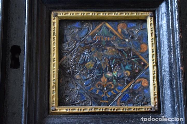 Antigüedades: MUEBLE BARGUEÑO ARQUILLA ESTILO FRANCES SIGLO XIX - Foto 12 - 111378023