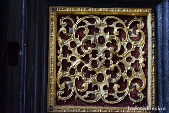 Antigüedades: MUEBLE BARGUEÑO ARQUILLA ESTILO FRANCES SIGLO XIX - Foto 13 - 111378023