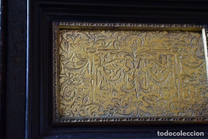 Antigüedades: MUEBLE BARGUEÑO ARQUILLA ESTILO FRANCES SIGLO XIX - Foto 15 - 111378023