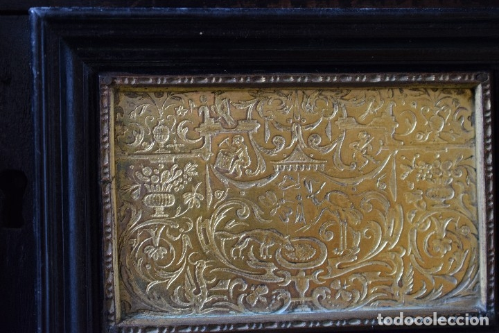 Antigüedades: MUEBLE BARGUEÑO ARQUILLA ESTILO FRANCES SIGLO XIX - Foto 17 - 111378023
