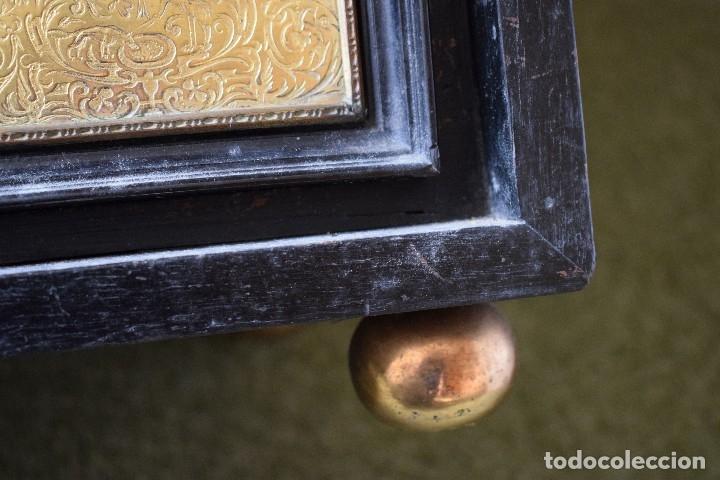 Antigüedades: MUEBLE BARGUEÑO ARQUILLA ESTILO FRANCES SIGLO XIX - Foto 20 - 111378023