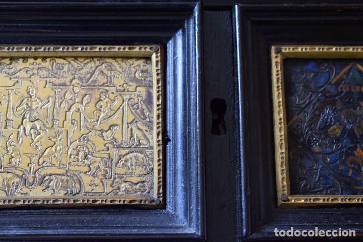 Antigüedades: MUEBLE BARGUEÑO ARQUILLA ESTILO FRANCES SIGLO XIX - Foto 24 - 111378023