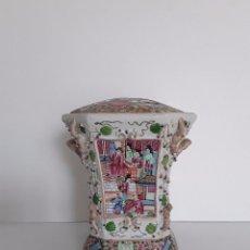 Antigüedades: FLORERO DE CANTON SXX. Lote 120910267