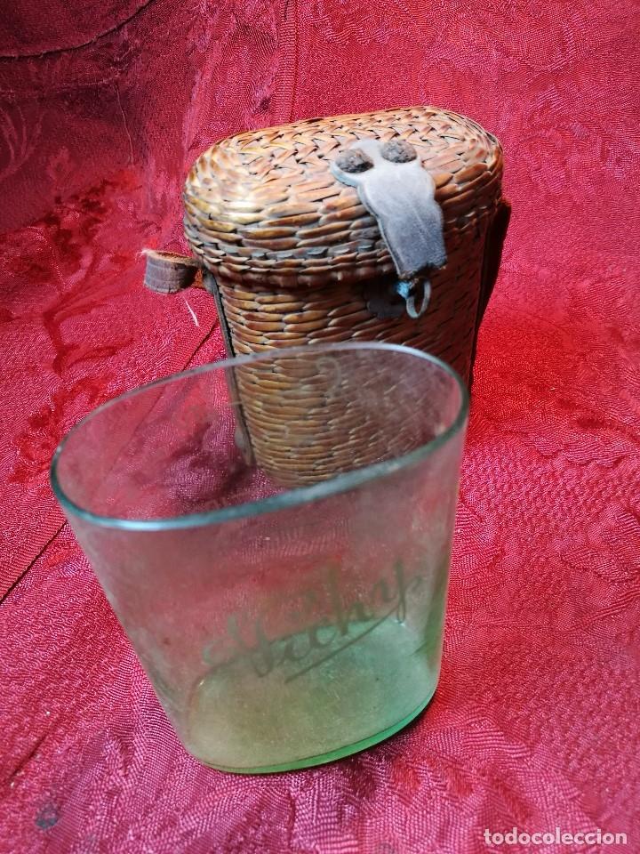 Antigüedades: vaso de petaca o faltriquera de balneario VICHY CALDES DE MALAVELLA...GIRONA ..Modelo siglo XIX - Foto 4 - 120919427