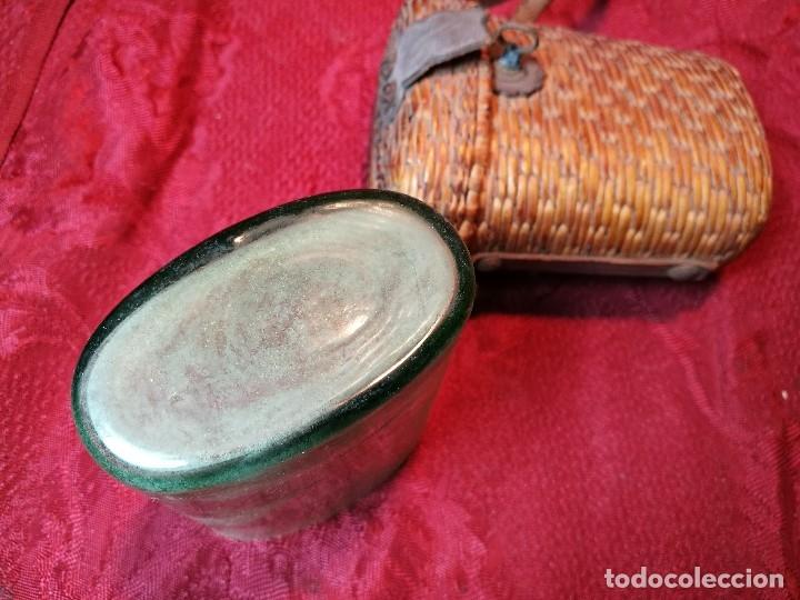 Antigüedades: vaso de petaca o faltriquera de balneario VICHY CALDES DE MALAVELLA...GIRONA ..Modelo siglo XIX - Foto 10 - 120919427