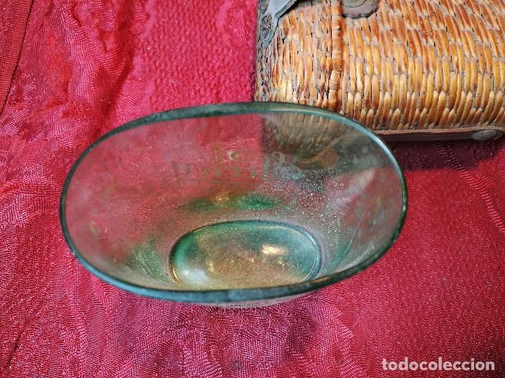 Antigüedades: vaso de petaca o faltriquera de balneario VICHY CALDES DE MALAVELLA...GIRONA ..Modelo siglo XIX - Foto 11 - 120919427