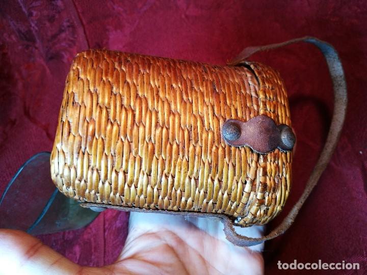 Antigüedades: vaso de petaca o faltriquera de balneario VICHY CALDES DE MALAVELLA...GIRONA ..Modelo siglo XIX - Foto 15 - 120919427