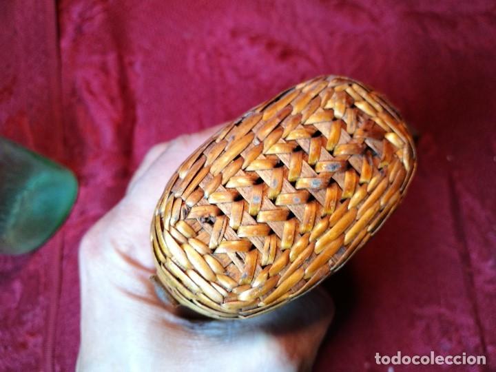 Antigüedades: vaso de petaca o faltriquera de balneario VICHY CALDES DE MALAVELLA...GIRONA ..Modelo siglo XIX - Foto 16 - 120919427
