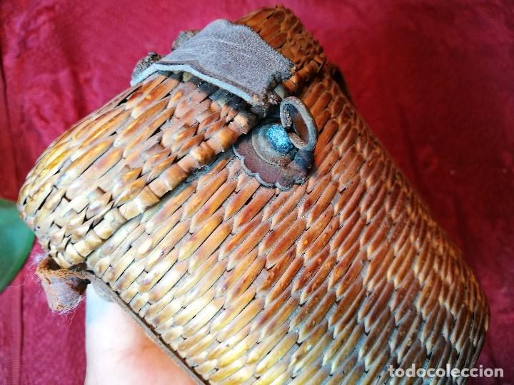 Antigüedades: vaso de petaca o faltriquera de balneario VICHY CALDES DE MALAVELLA...GIRONA ..Modelo siglo XIX - Foto 17 - 120919427