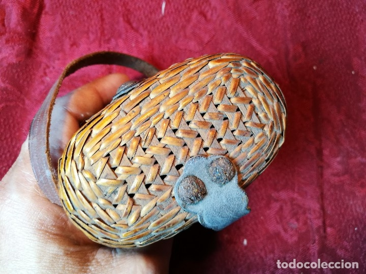 Antigüedades: vaso de petaca o faltriquera de balneario VICHY CALDES DE MALAVELLA...GIRONA ..Modelo siglo XIX - Foto 18 - 120919427