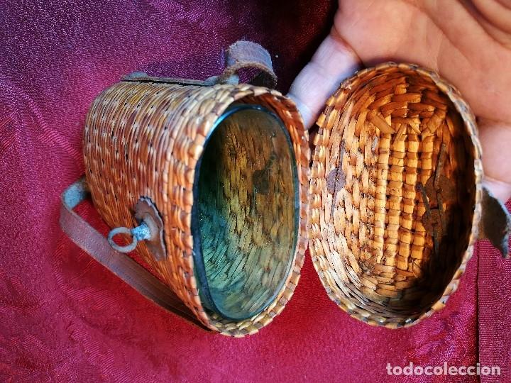 Antigüedades: vaso de petaca o faltriquera de balneario VICHY CALDES DE MALAVELLA...GIRONA ..Modelo siglo XIX - Foto 20 - 120919427