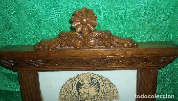 Antigüedades: PRECIOSA PIEZA SACRA EN MADERA - Foto 2 - 120950119