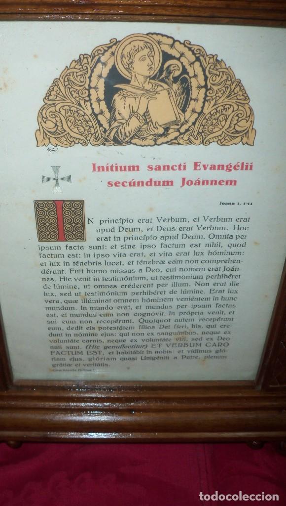 Antigüedades: PRECIOSA PIEZA SACRA EN MADERA - Foto 4 - 120950119