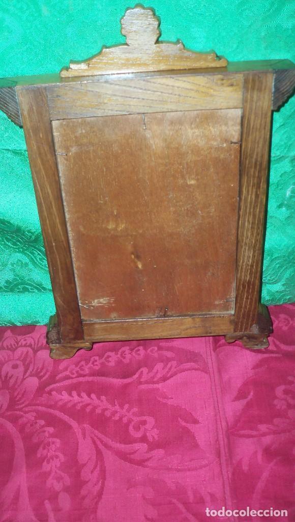 Antigüedades: PRECIOSA PIEZA SACRA EN MADERA - Foto 7 - 120950119