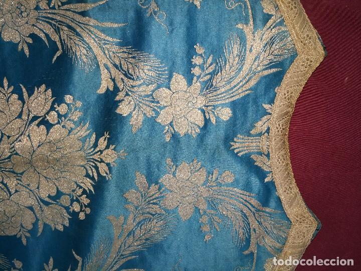 Antigüedades: , dalmática,estola pañuelo cubrecaliz de la Inmaculada - Foto 6 - 130405670