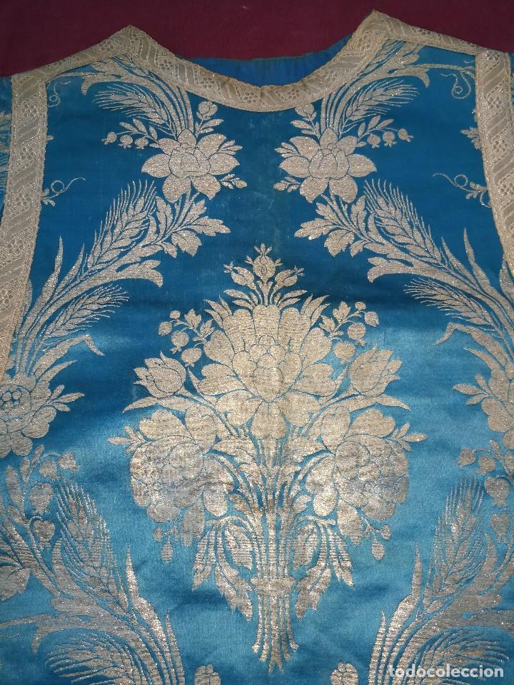 Antigüedades: , dalmática,estola pañuelo cubrecaliz de la Inmaculada - Foto 7 - 130405670