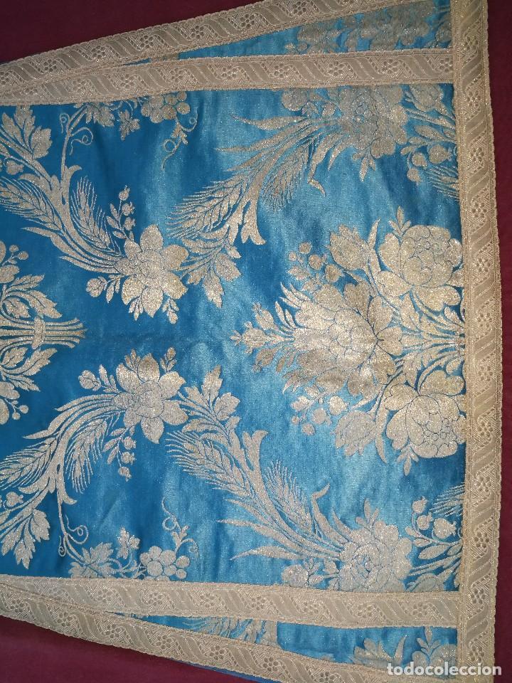 Antigüedades: , dalmática,estola pañuelo cubrecaliz de la Inmaculada - Foto 8 - 130405670