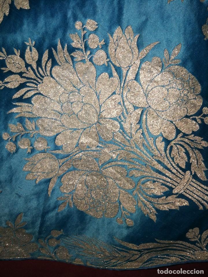 Antigüedades: , dalmática,estola pañuelo cubrecaliz de la Inmaculada - Foto 9 - 130405670