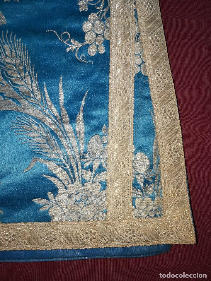 Antigüedades: , dalmática,estola pañuelo cubrecaliz de la Inmaculada - Foto 10 - 130405670