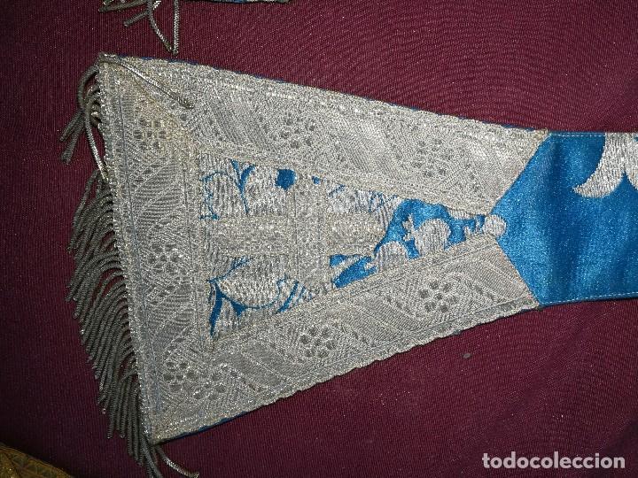 Antigüedades: , dalmática,estola pañuelo cubrecaliz de la Inmaculada - Foto 15 - 130405670