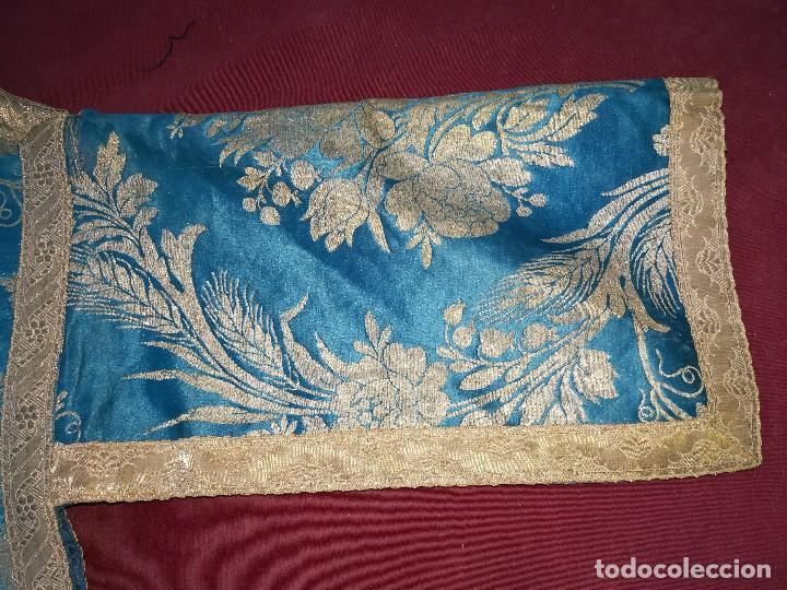Antigüedades: , dalmática,estola pañuelo cubrecaliz de la Inmaculada - Foto 18 - 130405670