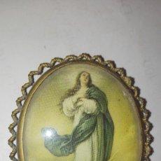 Antigüedades: PEQUEÑO PORTAFOTOS MARIA AUXILIADORA. Lote 121009863