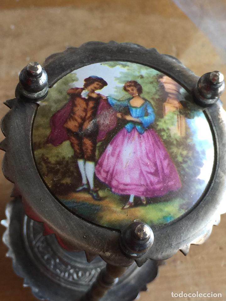 Antigüedades: Precioso reloj de arena estilo Isabelino - Foto 2 - 121040476