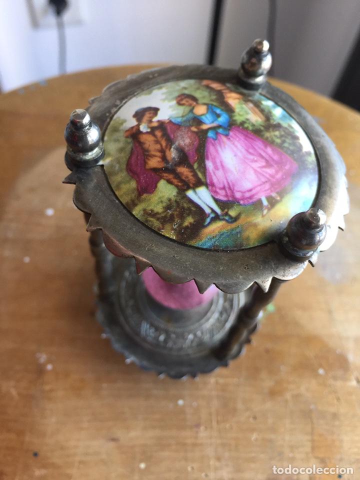 Antigüedades: Precioso reloj de arena estilo Isabelino - Foto 4 - 121040476
