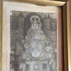 Antigüedades: ESTAMPA RELIQUIA RELIGIOSA CON LACRA. Lote 127770831