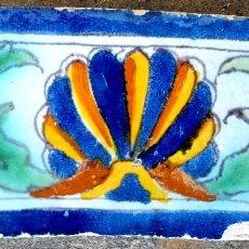 Antigüedades: AZULEJO DE TRIANA (SEVILLA) DE FINALES DEL SIGLO XVI. Lote 121042451