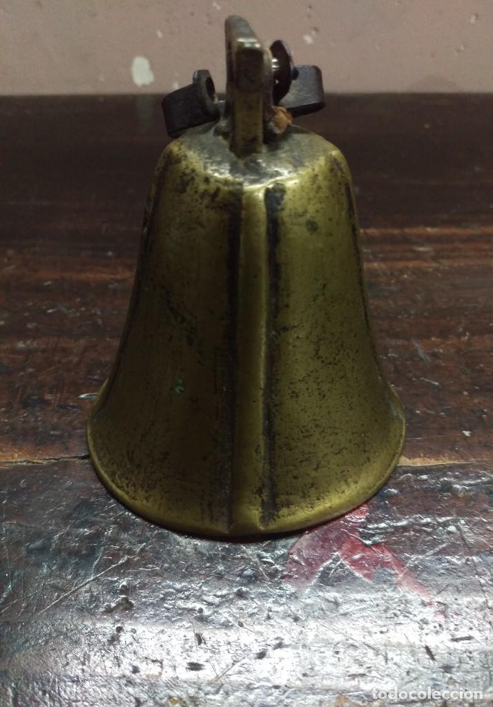 CAMPANA DE BRONCE SIGLO XIX (Antigüedades - Religiosas - Varios)