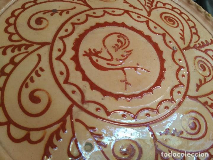 Antigüedades: Gran plato antiguo firmado hermanos Almarza - Foto 3 - 121076135