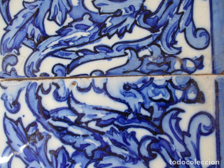 Antigüedades: Azulejos de Triana pintados siglo XIX - Foto 3 - 121081879