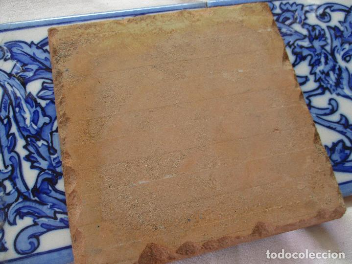 Antigüedades: Azulejos de Triana pintados siglo XIX - Foto 4 - 121081879