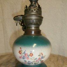 Antigüedades: QUINQUE LAMPARA. Lote 121087883