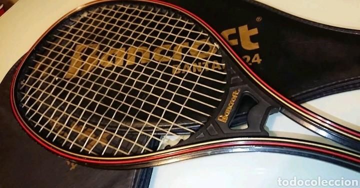 4e8086e26e4ebb Antigüedades  Pack 2 Raquetas de Tenis Bancroft Van Allen Antiguas - Foto 2  - 121100740