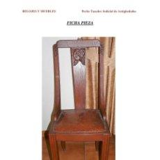 Antiquitäten - 6 Sillas Art-deco - 121104451